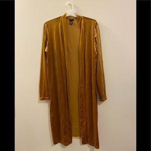 Golden cardigan